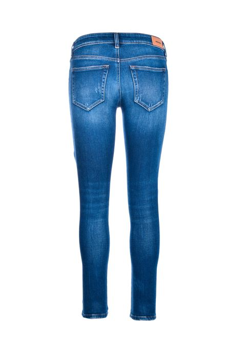 Medium blue Slandy super skinny jeans DIESEL | Jeans | 00SXJM 009CX01