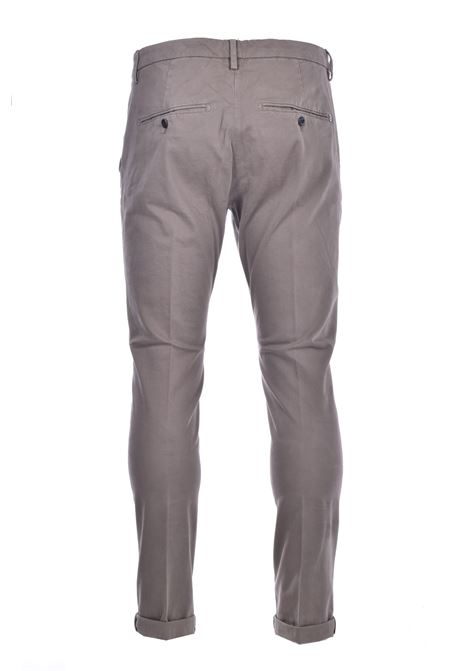Slim chino trousers in gabardin DONDUP | Pants | UP235GSE043PTDDU636U