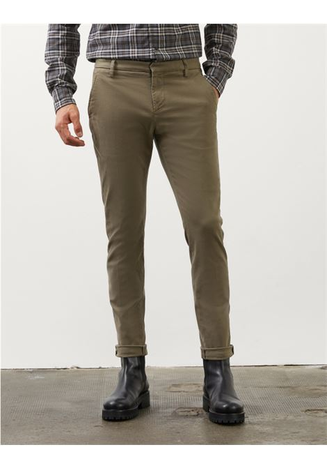 Slim chino trousers in gabardin DONDUP | Trousers | UP235GSE043PTDDU636U