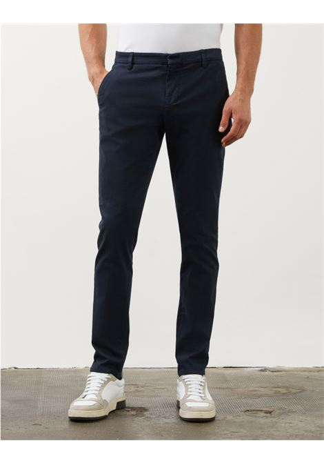 Slim chino trousers in gabardin DONDUP | Trousers | UP235GSE043PTDDU890U
