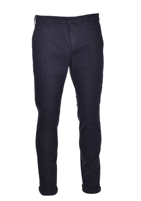 Slim chino trousers in gabardin DONDUP | Trousers | UP235GSE043PTDDU999U