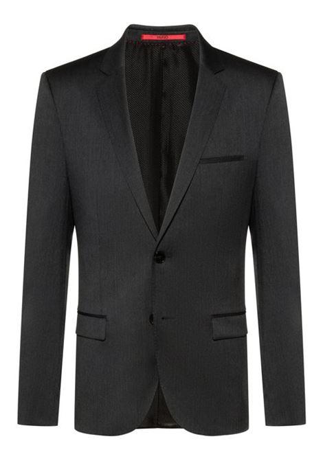 Giacca extra slim fit in twill di lana vergine HUGO | Giacche | 50375345010
