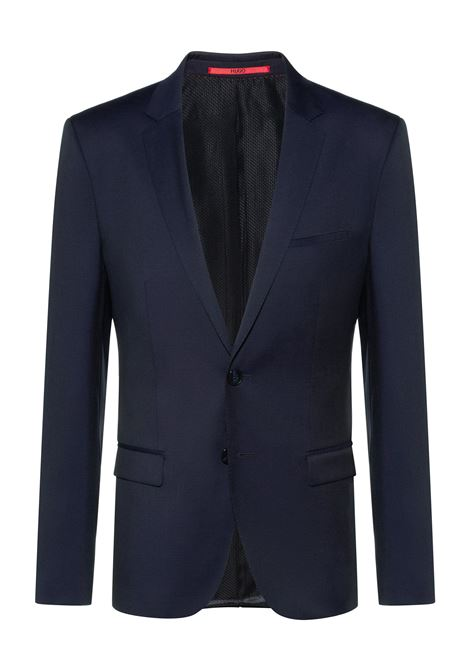 Giacca extra slim fit in twill di lana vergine HUGO | Giacche | 50375345401