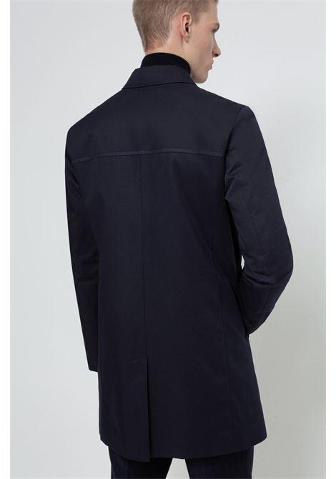 Cappotto impermeabile corto blu scuro HUGO | Cappotti | 50430495405
