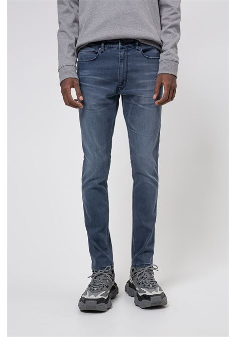 Skinny fit jeans in bright blue stretch denim HUGO | Jeans | 50430974430