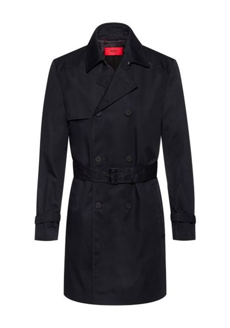 Maluks Slim fit waterproof trench coat HUGO | Coat | 50435785001