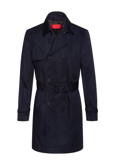 Slim fit waterproof trench coat HUGO | Coat | 50435785405