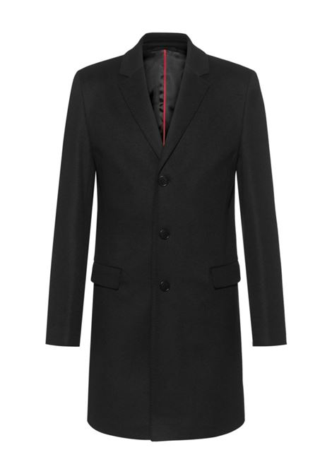 Migor Slim fit coat in virgin wool blend HUGO | Coat | 50438437001