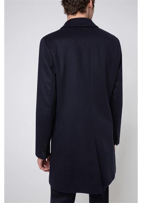 Migor Cappotto slim fit in misto lana vergine HUGO | Cappotti | 50438437405