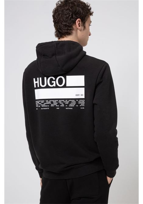 doyano Cotton blend hoodie HUGO | Sweatshirt | 50439133001