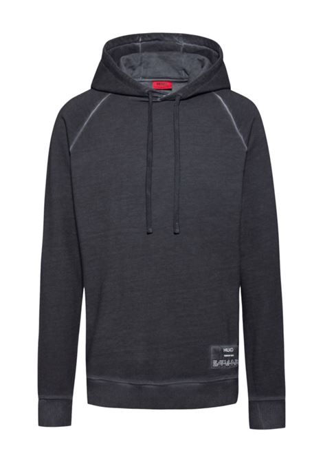 dersh Relaxed fit hoodie in recot²® French terry HUGO | Sweatshirt | 50439307047