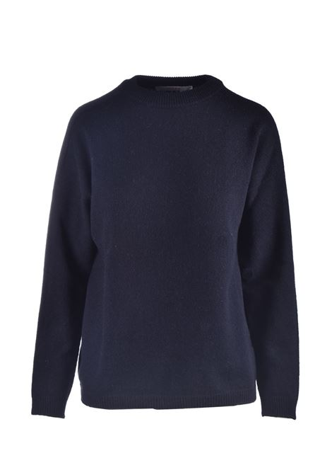 Maglione relaxed fit in cachmere nero JUCCA | Maglieria | J3211008003