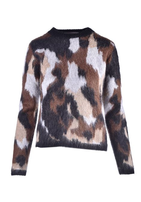Maglia in misto mohair camoufflage JUCCA | Maglieria | J3211127003