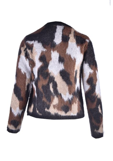 Camoufflage mohair blend sweater JUCCA | Knitwear | J3211127003