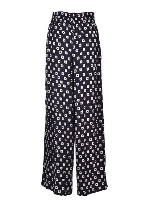 Pantalone palazzo ampio con quadretti JUCCA | Pantaloni | J3214040003
