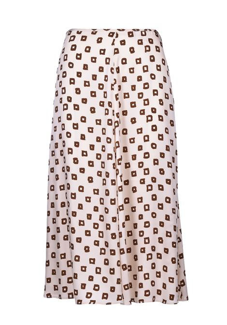 Long flared skirt with square pattern JUCCA |  | J3215020317