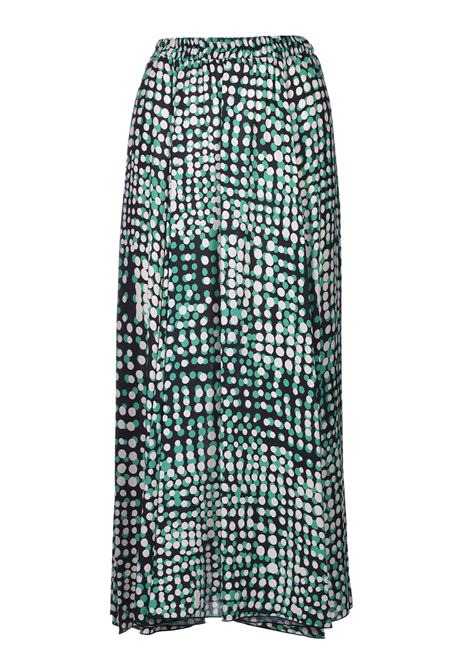 Long skirt in polka dot crepe JUCCA | Skirts | J32150221674