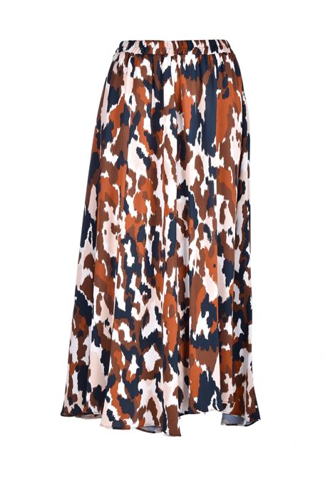 Patterned georgette wedge skirt JUCCA | Skirts | J32150231675