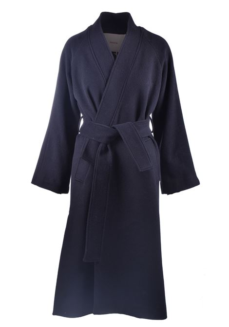 Kimono coat in virgin wool with belt JUCCA | Coat | J3216002003