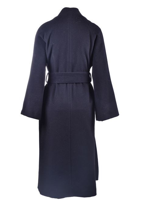 Kimono coat in virgin wool with belt JUCCA | Overcoat | J3216002003