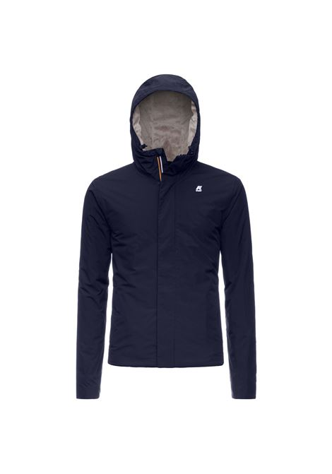 Jack ripstop dark blue marmot K-WAY | Jackets | K1119KWA1Y