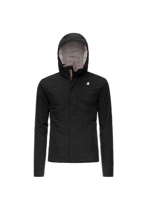 Jack ripstop black marmot K-WAY | Jackets | K1119KWA22
