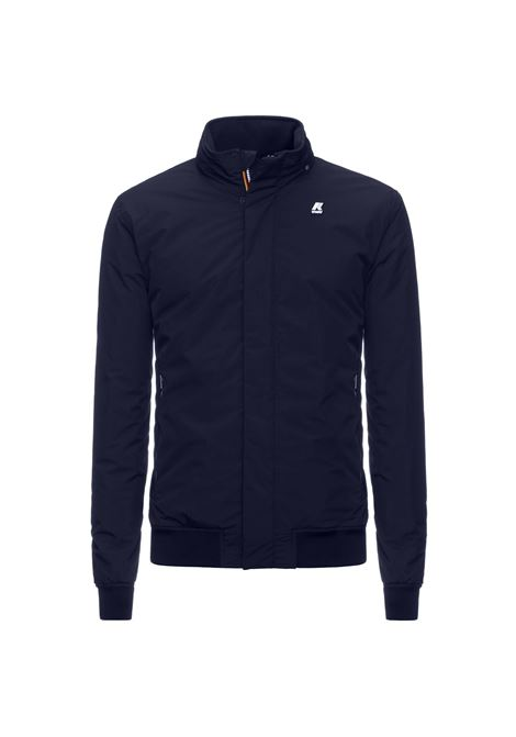 Amaury ripstop marmot dark blue K-WAY | Jackets | K1119LWA1Y