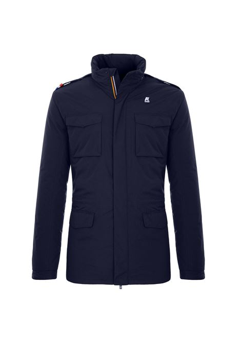 Manfield ripstop marmot blue depht K-WAY | Jackets | K1119MWA1Y