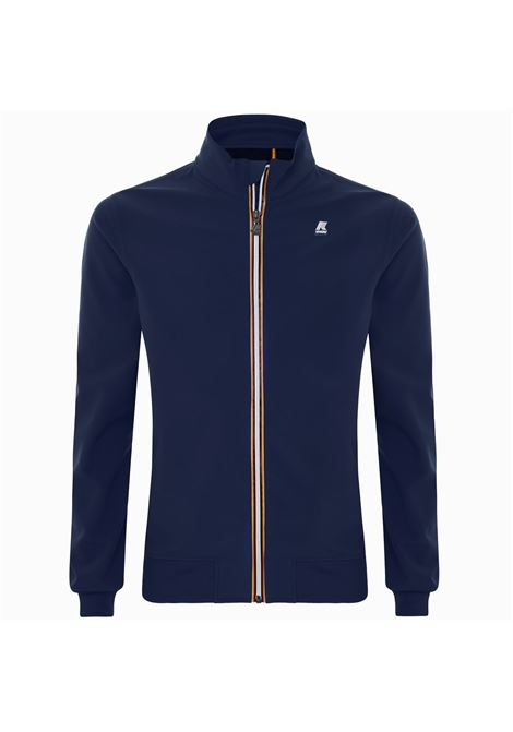 Arsene bonded blue depht K-WAY | Jackets | K111B1WA2D