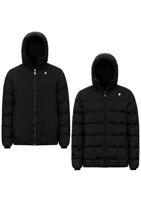 Amede thermo stretch double black K-WAY | Jackets | K111B9WUSY