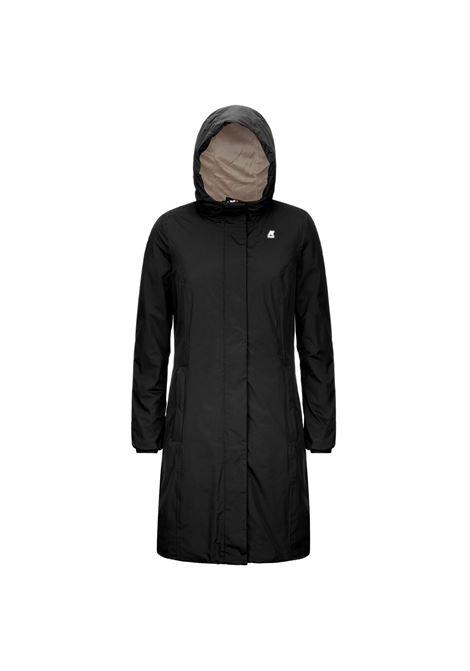 Charlene micro ripstop black K-WAY | Overcoat | K2112WWA22