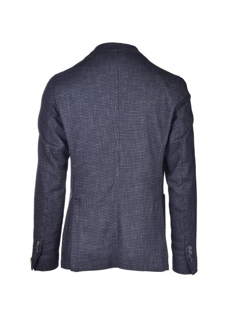 Gray houndstooth cool wool blazer L.B.M. | Blazers | 951405