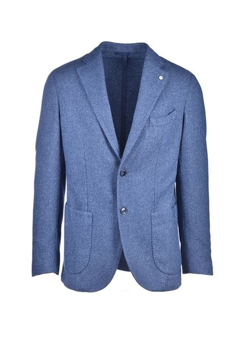 Light blue wool blazer L.B.M. | Blazers | 951593