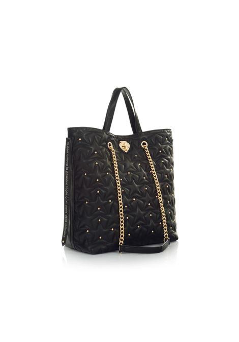 Tote bag Cris Passione LE PANDORINE | Shopping Bag | DAH02597-01BLACK
