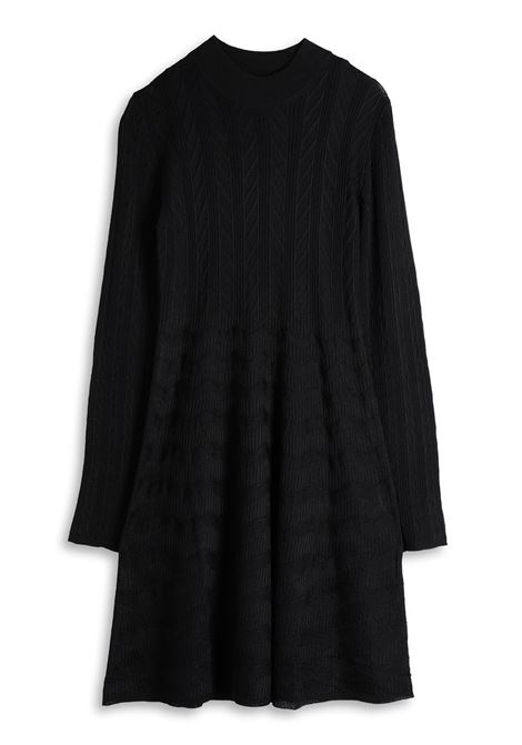 Black beauty knit dress M MISSONI | Dresses | 2DG00495/2K007893911