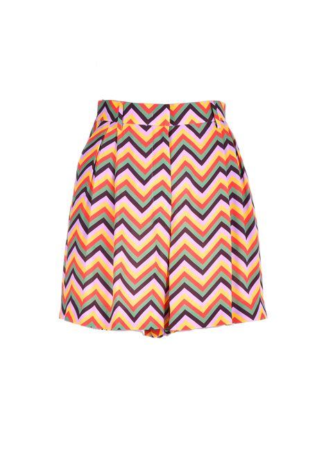 Zigzag print crepe bermuda shorts M MISSONI | Shorts | 2DI00189/2W004WSM22J