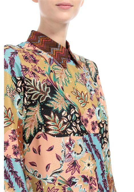 Camicia in seta jacquard M MISSONI | Camicie | 2DJ00119/2W0069S00FN