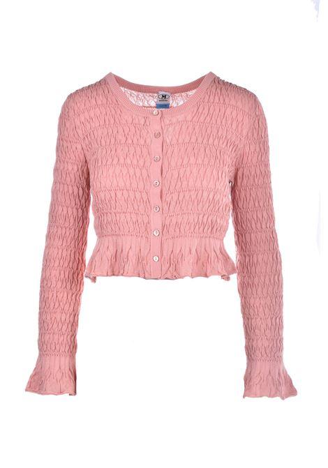 Maglioncino rosa con rouches M MISSONI | Maglieria | 2DM00124/2K007961330