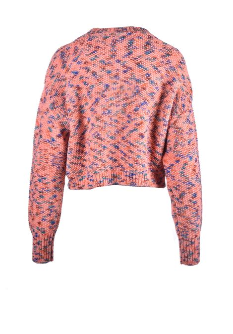 Maglione corto in lana vergine rosa M MISSONI | Maglieria | 2DN00296/2K007AF300Z