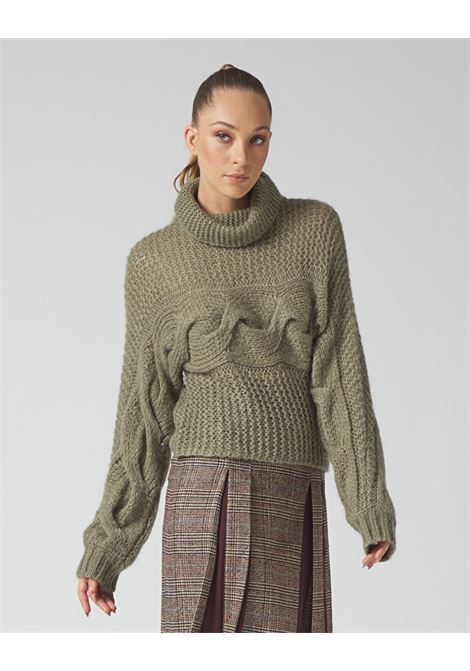 High neck wool sweater MANILA GRACE | Knitwear | M310WUMD896