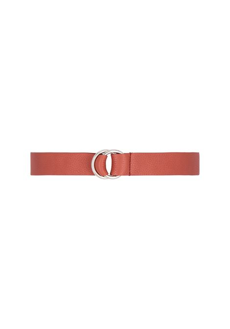 Papaya leather belt MOMONI | Belt | MOBT0020610