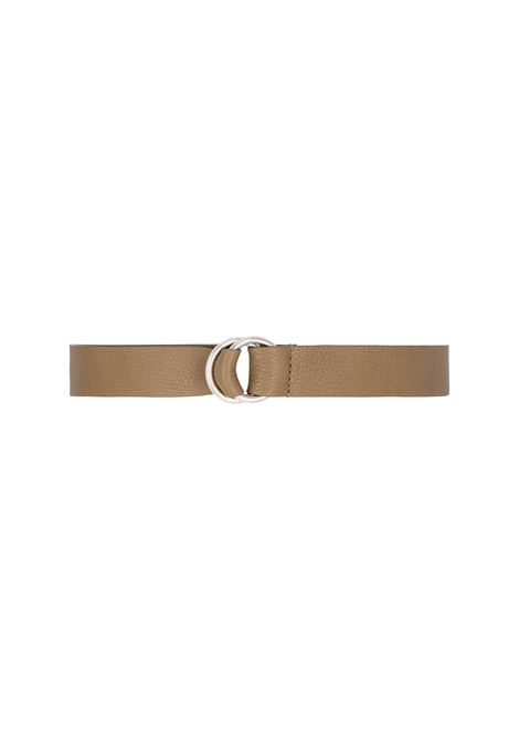 Papaya leather belt MOMONI | Belts | MOBT0020731