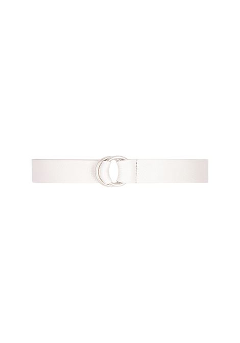 Papaya leather belt MOMONI | Belts | MOBT0020998