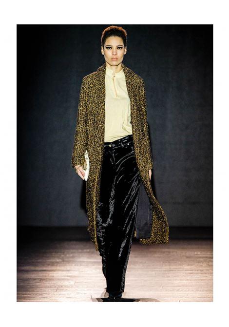 Cappotto in tessuto chanel lurex oro e nero MOMONI | Cappotti | MOCO0162000