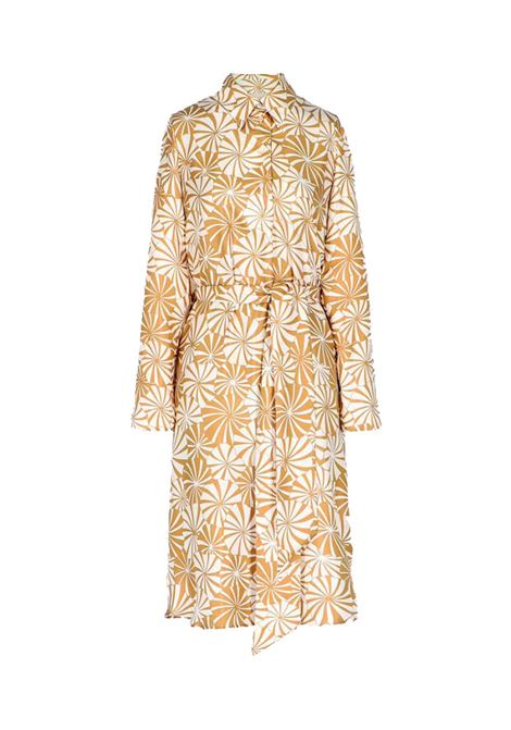 Agata Shirt dress in silk twill MOMONI |  | MODR0021081