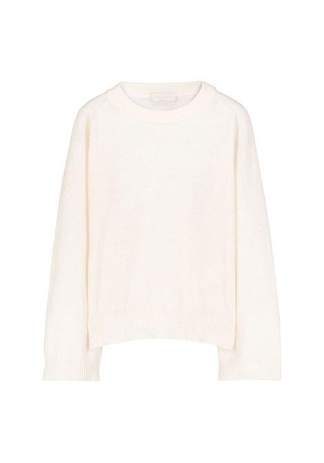 Maglia Odino in lana e cachmere - panna MOMONI | Maglie | MOKN0050040