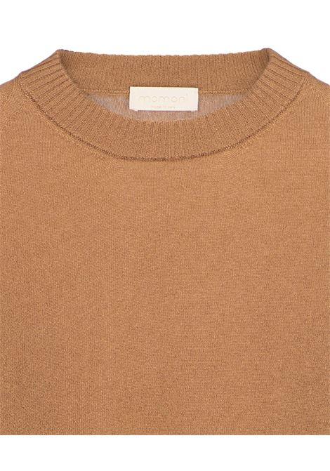 Maglia Marmotta in lana e cachmere - beige MOMONI | Maglieria | MOKN0060050