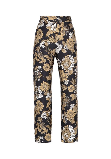 Avena trousers in silk twill MOMONI | Trousers | MOPA0019964