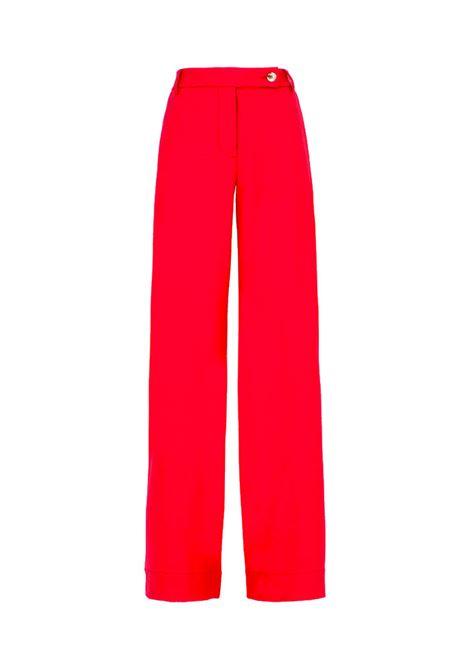 Fauna Dark pink cool wool trousers MOMONI | Trousers | MOPA0100450