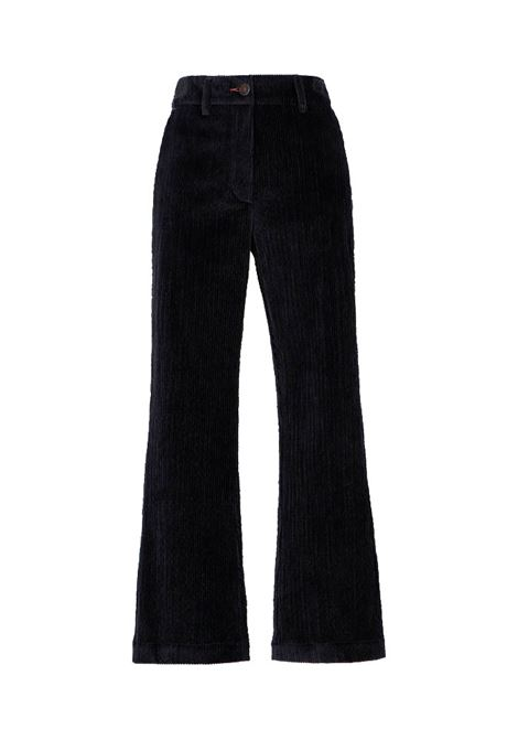 Indra stretch corduroy trousers MOMONI | Trousers | MOPA0130990